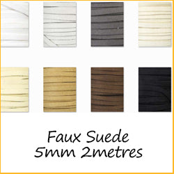 Faux Suede 5mm 2metres