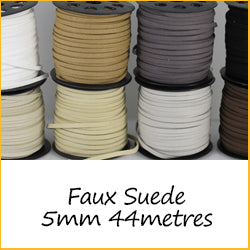 Faux Suede 5mm 44metres