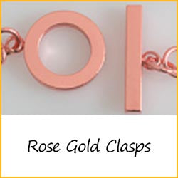 Rose Gold Clasps