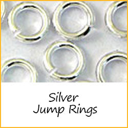 Silver jump rings