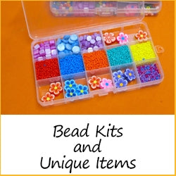 BEAD KITS AND UNIQUE ITEMS