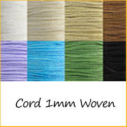 Cord 1mm Woven
