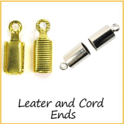 Leather and Cord Ends