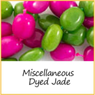 Miscellaneous Dyed Jade