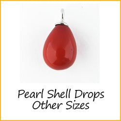 Pearl Shell Drops Other Sizes