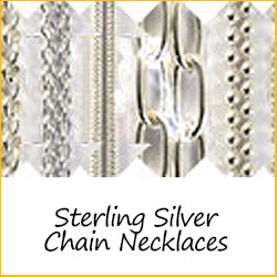 Sterling Silver Chain Necklaces