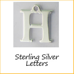 Sterling Silver Letters