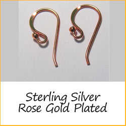 Sterling Silver Rose Gold Plated