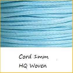 Cord 1mm HQ Woven
