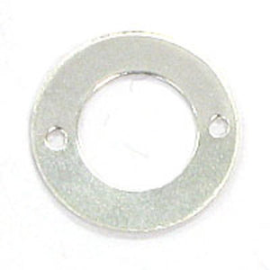 Metal 12mm rnd two hole circle 30pcs