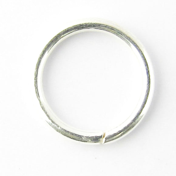 sterling sil 5x1mm ring SOLDERED 10pcs