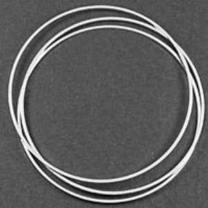Metal 45mm rnd hoop silver 10pcs