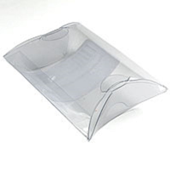Plas pillow 85x68mm clear 18pcs+