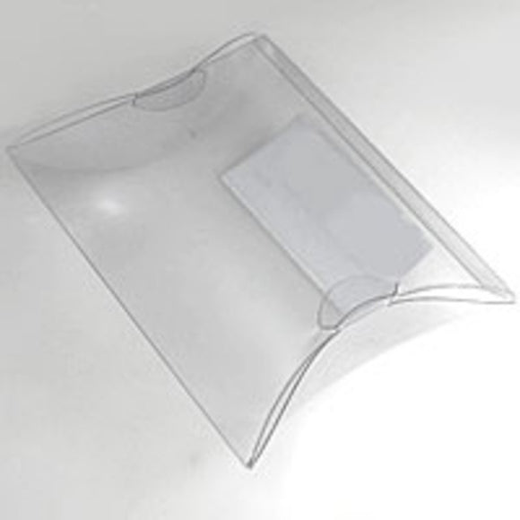 Plas pillow 110x100mm clear 20pcs