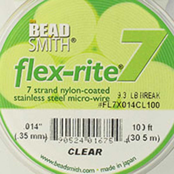 Flexrite .35mm 7st 9.3lb clear 30.5mtr