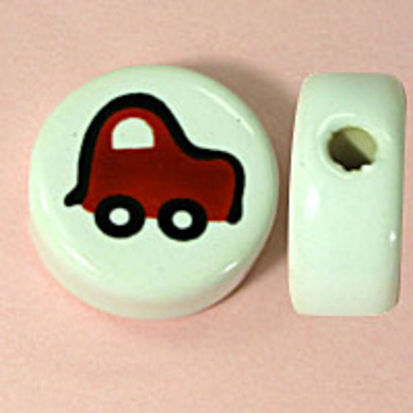 Cm 20mm red car 10pcs