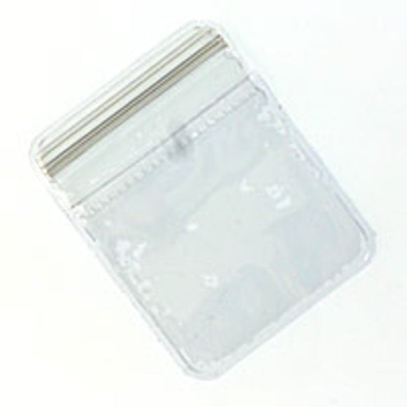 Plastic bag 50x40mm press lock bag 12pcs