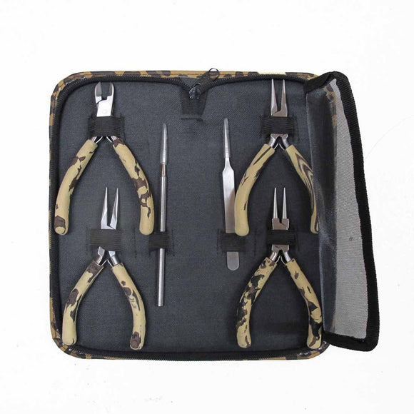 Tool kit 6pc tools leopard case