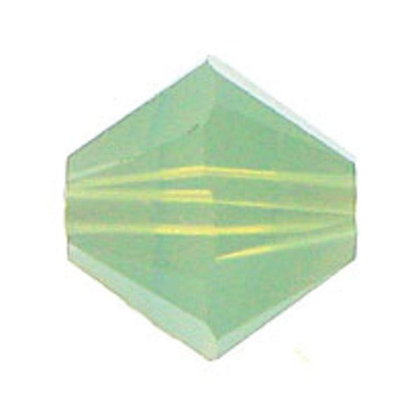 Swarovski 8mm 5328 chrysolite Opal 10pc