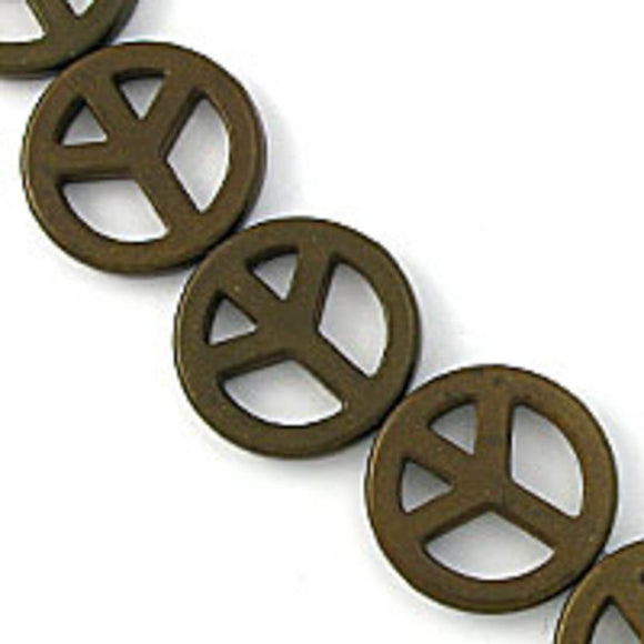 Semi prec 25mm peace chocolate 16pcs