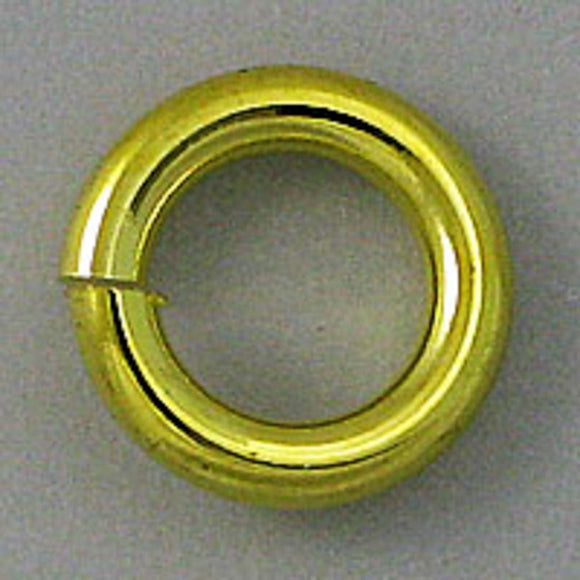 metal 8x1.6mm jumpring gold 100pcs