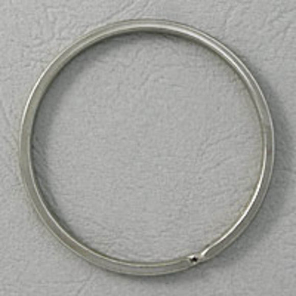 metal 56mm split ring nickel 4pcs