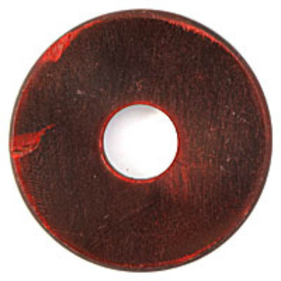 Horn 6x44mm donut red 2pcs