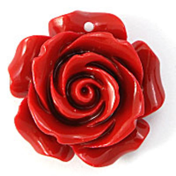Rs 25mm Euro rose red 2pcs