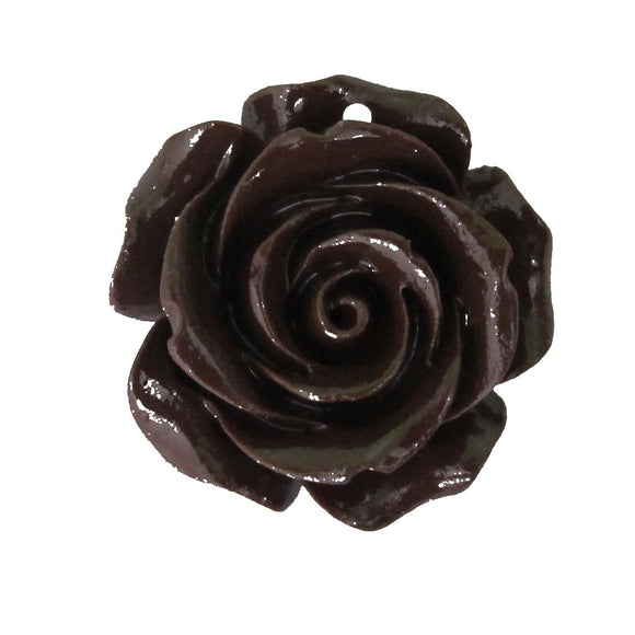 Rs 25mm Euro rose brown 2pcs