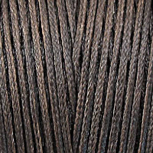 Waxed 2mm cord chocolate 300metres