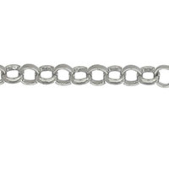 metal chain 2.5mm belcher NF nkl 10mts