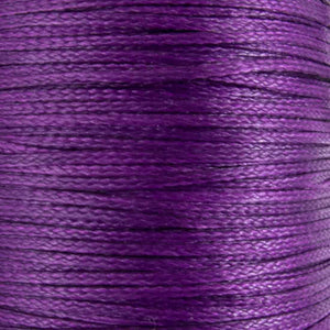 Waxed 1mm cord purple 40metres