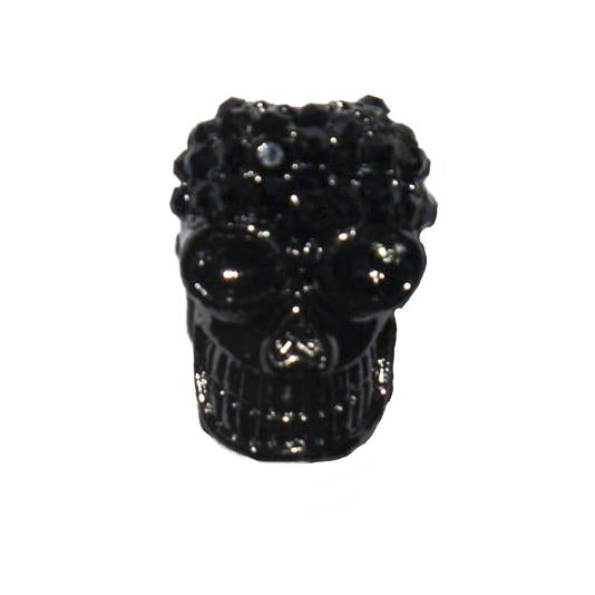 Metal 18mm day of the dead Blk/hem 2p