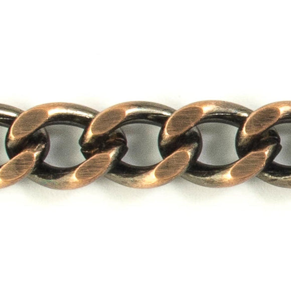Metal chain 15x10mm curblink Antiq cop 1