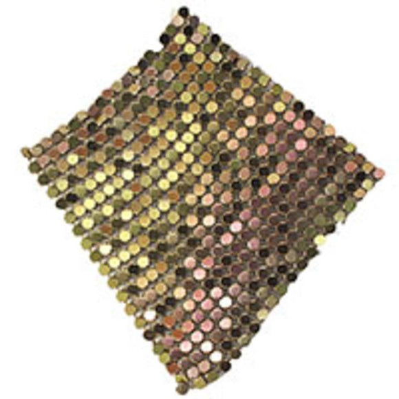 Metal 60mm glomesh square copper 4pcs