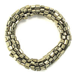 Cg 8mm thick beaded link nickel 4pcs