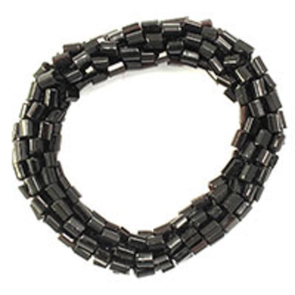 Cg 8mm thick beaded link black 4pcs
