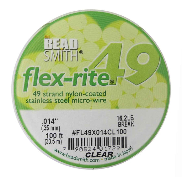 Flexrite .35mm 49str clear 30.5mtr