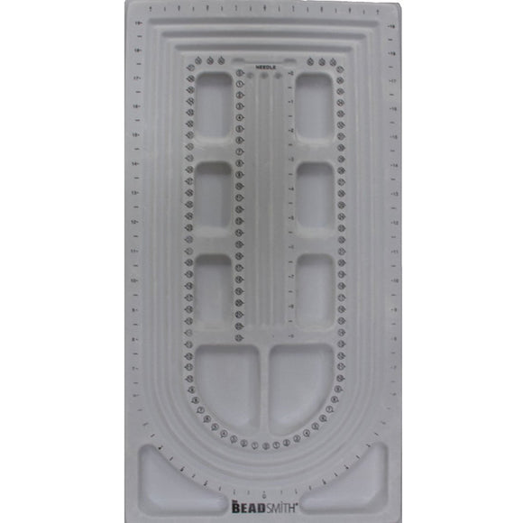 Bead board 53cm x 26cm grey 1pc