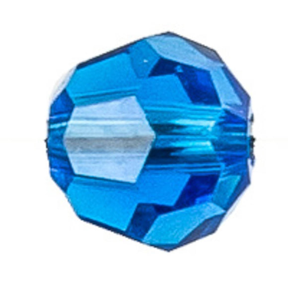 Swarovski 4mm 5000 capri blue 10pcs