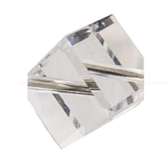 Swarovski 8mm cub DIA hole Ctyst 4pcs