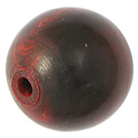 Horn 22mm round red 4pcs