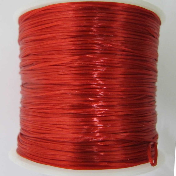 Elastic .5mm (S&S) red 50+metres