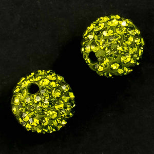 Diamante 10mm rnd perdiot 2pcs