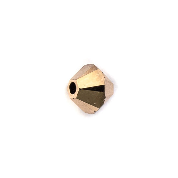 Swarovski 5mm 5328 rose gold 2X 20pcs
