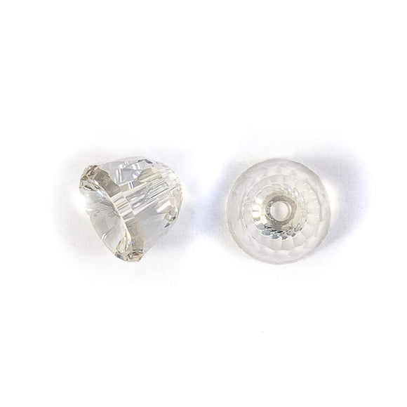 Swarovski 8mm 5542 dome bead SSHA 2pcs