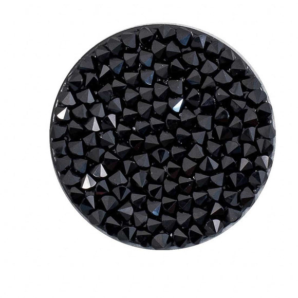 swarovski 30mm 70210 crystal rocks JET