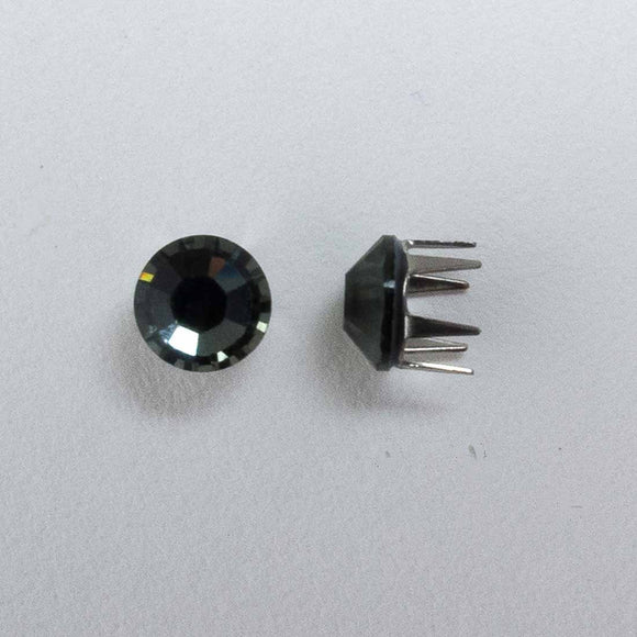 Swarovski 4mm 53303 rose pins blk dia 20