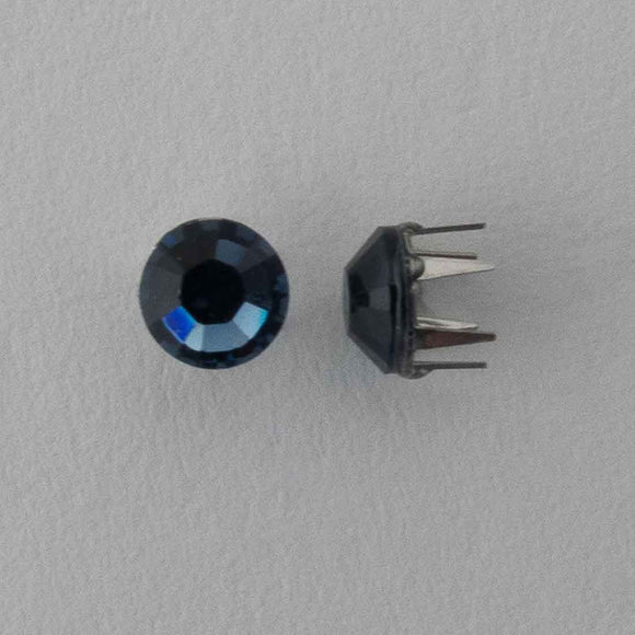 Swarovski 4mm 53303 rose pins denim b 20