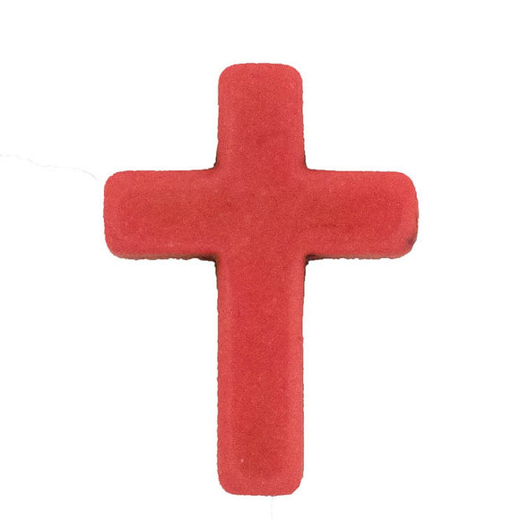 Semi prec 30x20mm cross musk 4pcs